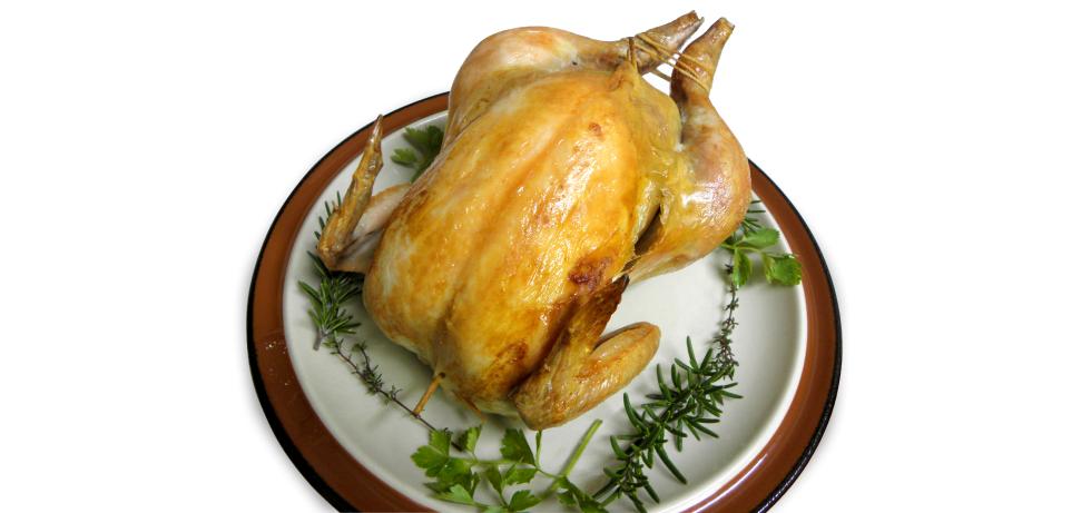 丸鶏のローストチキン 冷凍ピラフ入り